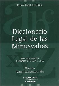 Picture of Diccionario Legal de las Minusvalias