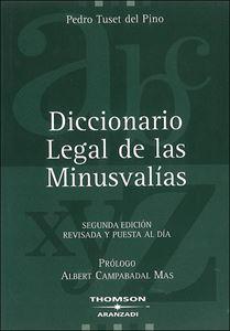 Picture of Diccionario Legal de las Minusvalias