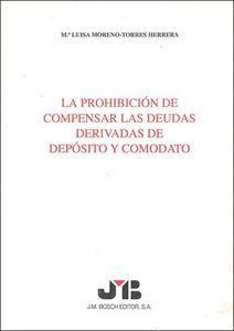 Picture of Prohibición de Compensar las deudas derivadas de depósito y