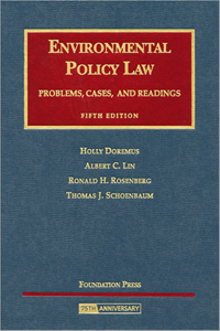 Picture of Environmental Policy Law: Problems, Cases and Readings