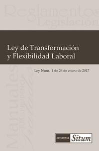 Picture of Ley de Transformacion y Flexibilidad Laboral (Ley Núm. 4 de 26 de enero de 2017)