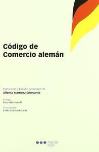 Picture of Codigo de Comercio Aleman