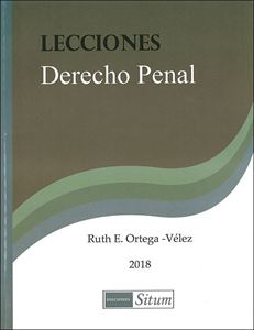 Picture of Lecciones Derecho Penal 2018 / Ruth Ortega