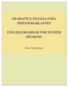 Picture of Gramatica Inglesa para Hispanohablantes / English Grammar for Spanish Speaking