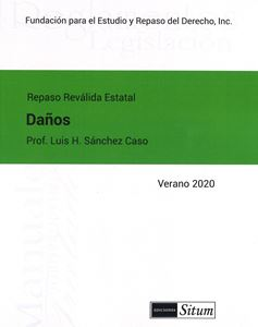 Picture of Manual de Daños Verano 2020. Repaso Reválida Estatal