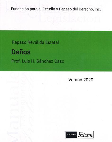 Picture of Manual de Daños Verano 2020. Repaso Reválida Estatal
