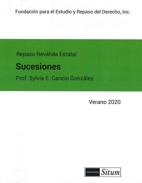 Picture of Manual Derecho de Sucesiones Verano 2020. Repaso Reválida Estatal