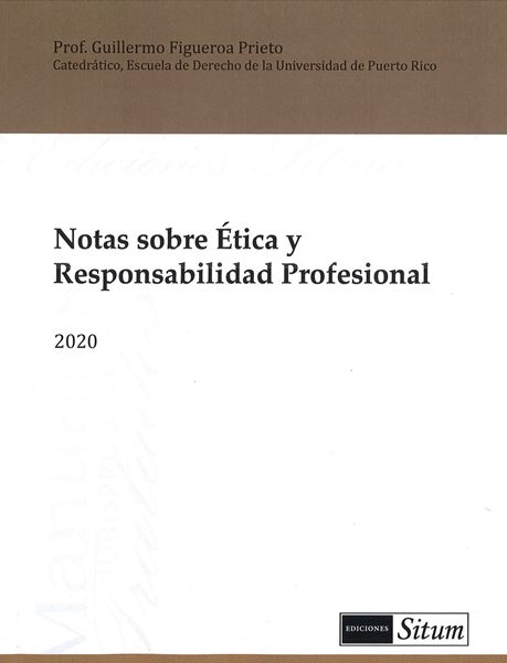 Picture of Notas sobre Etica y Responsabilidad Profesional 2020