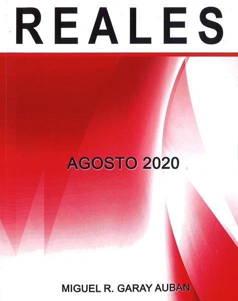 Picture of Repaso de Reales. Agosto 2020