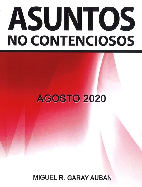 Picture of Asuntos No Contenciosos Agosto 2020