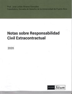 Picture of Notas sobre Responsabilidad Civil Extracontractual 2020 / JJ Alvarez