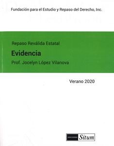 Picture of Manual de Evidencia Verano 2020. Repaso Reválida Estatal