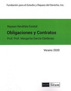 Picture of Manual de Obligaciones y Contratos Verano 2020. Repaso Reválida Estatal