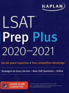 Picture of LSAT Prep Plus 20-21. Kaplan