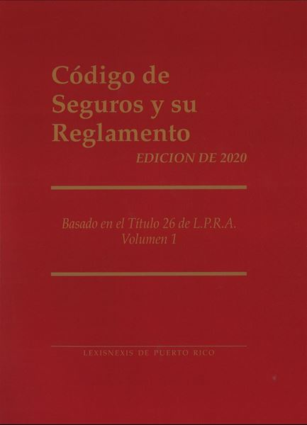 Picture of Código de Seguros y su Reglamento Edición 2020