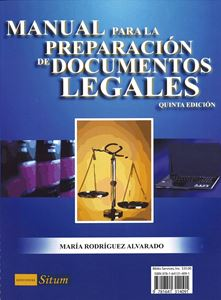 Picture of Manual para la preparacion de Documentos Legales