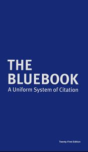Picture of The Bluebook A Uniform System of Citation 21 edition