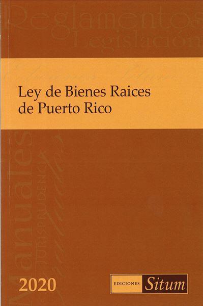 Picture of Ley de Bienes Raices de Puerto Rico 2020