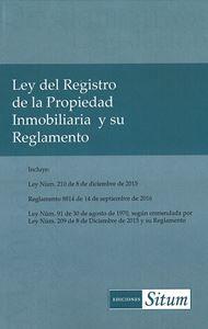 Picture of Ley del Registro de la Propiedad Inmobiliaria y su Reglamento