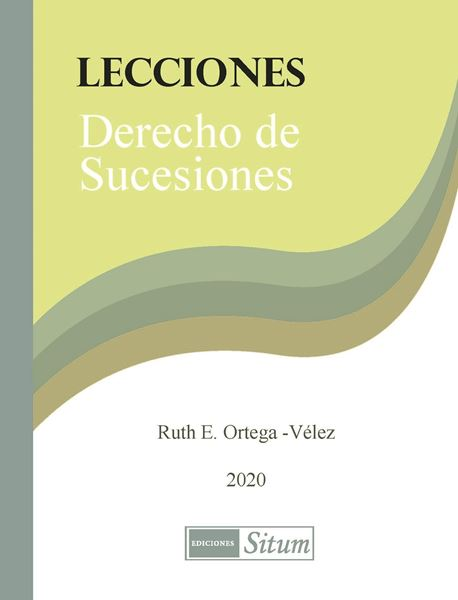 Picture of Lecciones Derecho de Sucesiones 2020