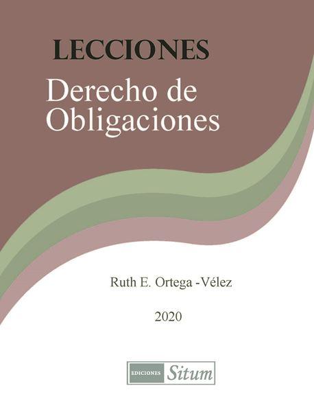 Picture of Lecciones Derecho de Obligaciones 2020