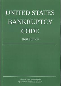 Picture of United States Bankruptcy Code 2020 Edition. Quick Desk Reference Series