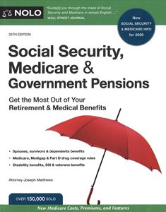 Picture of Nolo Social Security, Medicare & Government Pensions