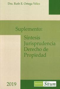 Picture of Suplemento: Síntesis Jurisprudencia Derecho de Propiedad 2019