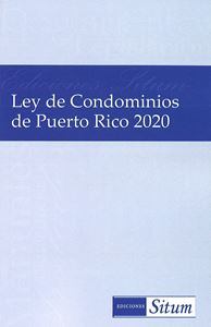 Picture of Ley de Condominos de PR 2020