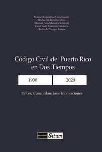 Picture of Codigo Civil de Puerto Rico a Dos Tiempos 1930 - 2020