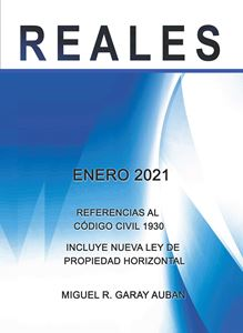 Picture of Repaso de Reales Enero 2021 (Referencias al Código Civil 1930)