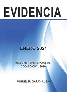 Picture of Repaso de Evidencia Enero 2021 (Incluye Referencias al Código Civil 1930)