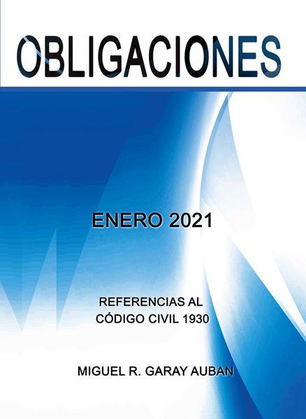 Picture of Repaso de Obligaciones Enero 2021 (Refencias al Código Civil 1930)