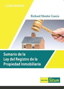 Picture of Sumario de la Ley del Registro de la Propiedad Inmobiliaria -Curso Shorter-