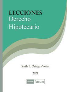 Picture of Lecciones Derecho Hipotecario 2021