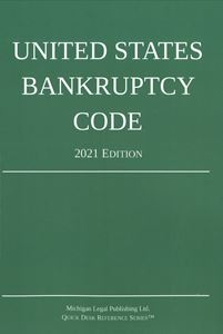 Picture of United States Bankruptcy Code 2021 Edition