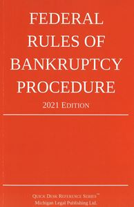 Picture of Federal Rules of Bankruptcy Procedure 2021 Edition