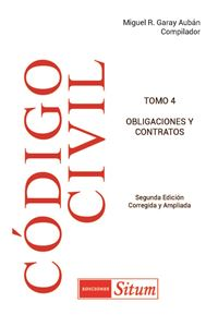 Picture of Código Civil de Puerto Rico 2020. Tomo 4 Obligaciones y Contratos