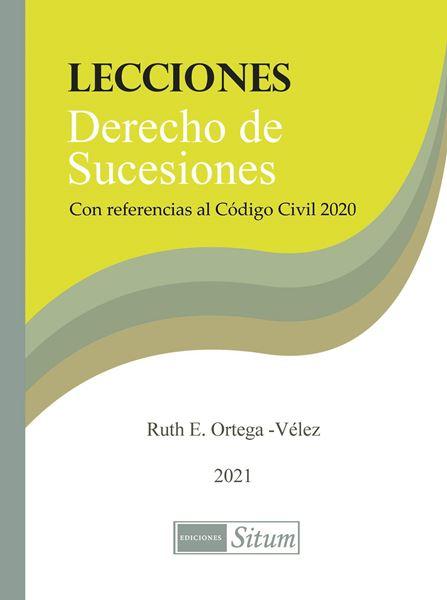 Picture of Lecciones Derecho de Sucesiones. Con referencias al Código Civil 2020