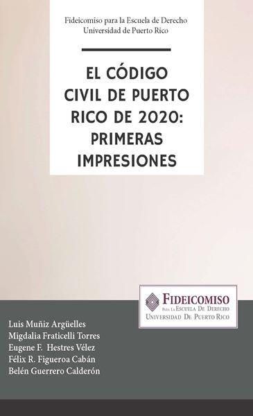 Picture of El Código Civil de Puerto Rico de 2020: Primeras Impresiones
