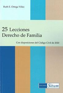 Picture of 25 Lecciones Derecho de Familia. Con disposiciones del Código Civil 2020