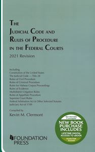 Picture of The Judicial Code and Rules of Procedure in the Federal Courts, 2021 Revision