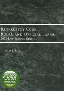 Picture of Bankruptcy Code, Rules, and Official Forms, 2021 Law School Edition