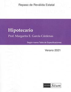 Picture of Manual Hipotecario Verano 2021. Repaso Reválida Estatal