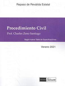 Picture of Manual Procedimiento Civil Verano 2021. Repaso Reválida Estatal