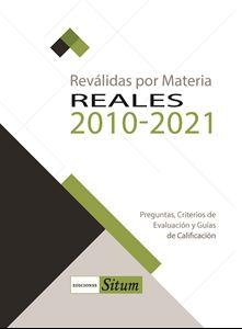 Picture of REVALIDAS POR MATERIA. REALES 2010-2021
