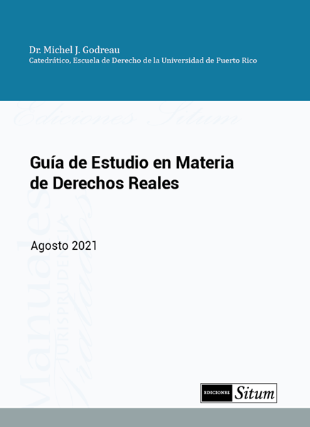 Picture of Guía de Estudio en Materia de Derechos Reales Agosto 2021