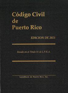 Picture of Código Civil de Puerto Rico Edición de 2021.Basado en el Título 31 de L.P.R.A.