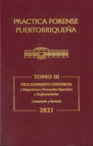 Picture of Reglas de Evidencia 2021. Práctica Forense Puertorriqueña Tomo III