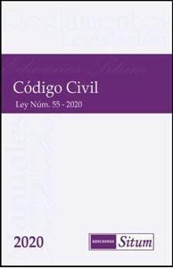 Picture of Código Civil de Puerto Rico 2020.   ESPIRAL Ley 55-2020